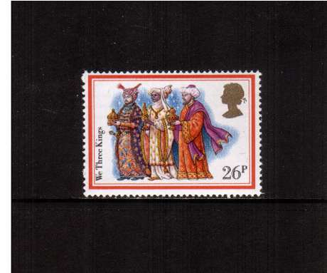 view larger image for SG 1205 (1982) - 26p - Christmas - Carols  -  'We Three Kings'<br/>commemorative odd value