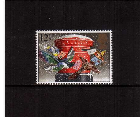 view larger image for SG 1231 (1983) - 12�p - Christmas - 'Christmas Post'<br/>commemorative odd value