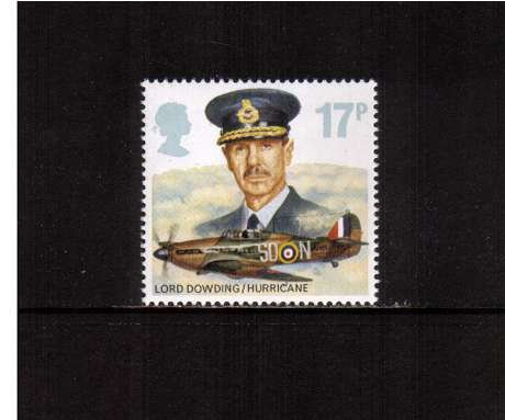 view larger image for SG 1336 (1986) - 17p - History of Royal Air Force   -