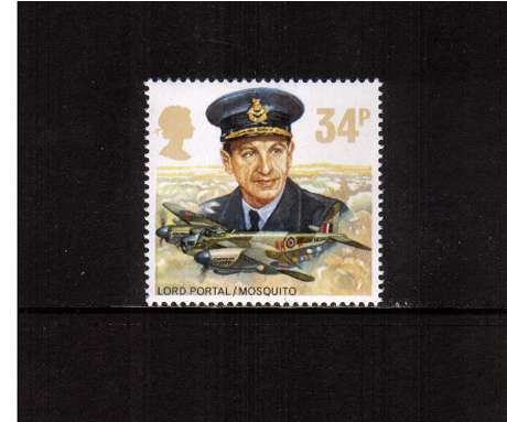 view larger image for SG 1340 (1986) - 34p - History of Royal Air Force   - Lord Portal