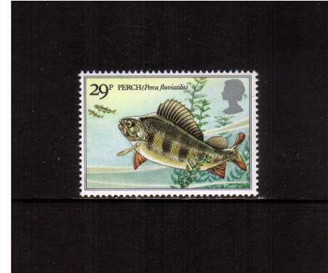 view larger image for SG 1210 (1983) - 29p - British River Fishes - Eurasian Perch