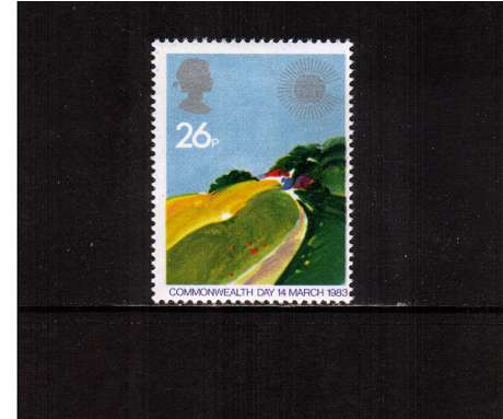 view larger image for SG 1213 (1983) - 26p - Commonwealth Day - Temperate Farmland