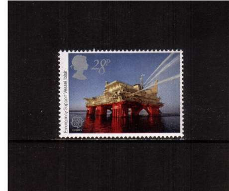 view larger image for SG 1217 (1983) - 28p - EUROPA -  Engineering Achievements - Oilfield vessel