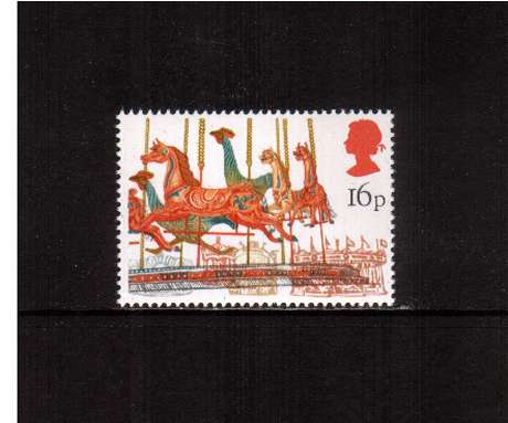view larger image for SG 1227 (1983) - 16p - British Fairs  - Merry-go-round