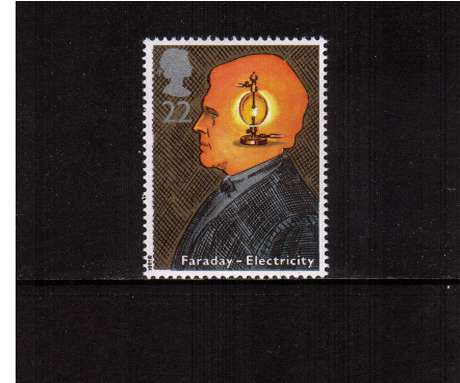 view larger image for SG 1546 (1991) - 22p - Scientific Achievements  - Faraday - Electricity