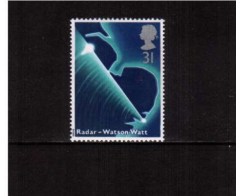 view larger image for SG 1548 (1991) - 31p - Scientific Achievements  - Radar - Watson & Watt