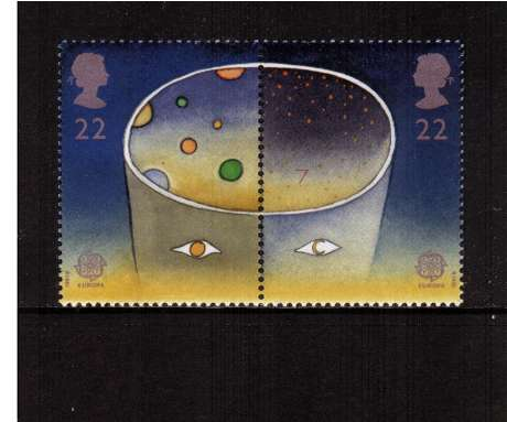 view larger image for SG 1560a (1991) - 22p's - EUROPA  - Europe in Space 