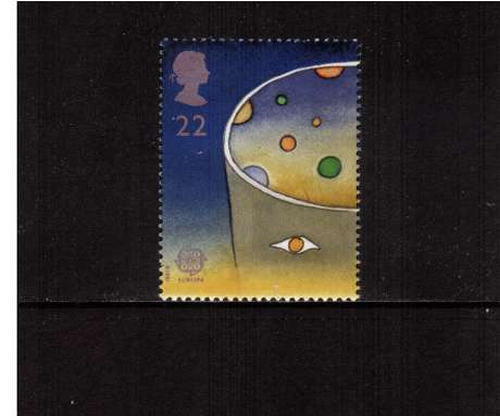 view larger image for SG 1560 (1991) - 22p - EUROPA  - Europe in Space 
