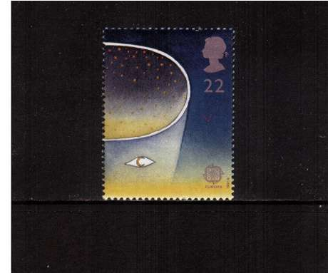 view larger image for SG 1561 (1991) - 22p - EUROPA  - Europe in Space 