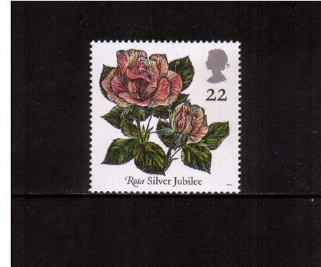view larger image for SG 1568 (1991) - 22p -  Roses Congress 	 - 'Silver Jubilee'