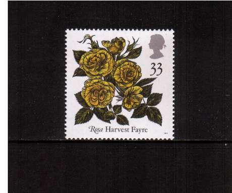 view larger image for SG 1571 (1991) - 33p -  Roses Congress 	 - 'Harvest Fayre'