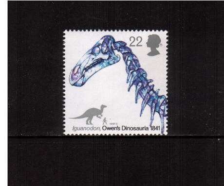view larger image for SG 1573 (1991) - 22p -  Dinosaurs - Iguanodon