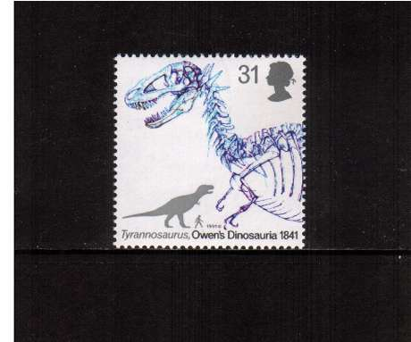 view larger image for SG 1575 (1991) - 31p -  Dinosaurs - Tyrannosaurus