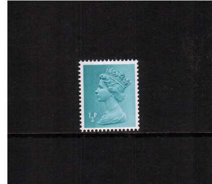 view larger image for SG X842 (1972) - �p Turquoise- Blue - Left Band with superb perforations
