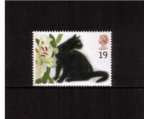 view larger image for SG 1848 (1995) - 19p - Cats -     Black Cat