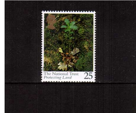 view larger image for SG 1869 (1995) - 25p - National Trust -  Protecting Land    