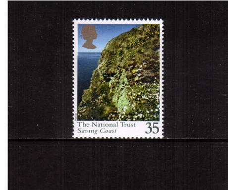view larger image for SG 1871 (1995) - 35p - National Trust - Saving Coast     