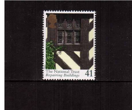 view larger image for SG 1872 (1995) - 41p - National Trust -    Repairing Buildings  