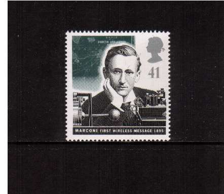 view larger image for SG 1889 (1995) - 41p - Pioneers of Communication - Marconi 