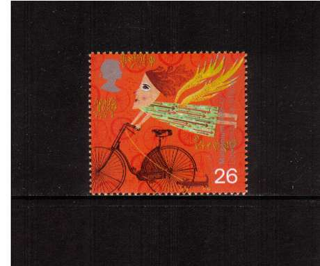 view larger image for SG 2074 (1999) - 26p - Millennium Series - Travellers Tale - Bicycle