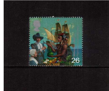 view larger image for SG 2085 (1999) - 26p - Millennium Series - Settlers Tale - Pilgrim Fathers