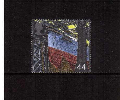 view larger image for SG 2090 (1999) - 44p - Millennium Series - Workers Tale - Shipbuilding