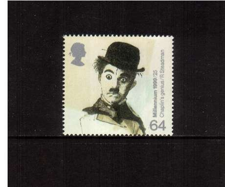 view larger image for SG 2095 (1999) - 64p - Millennium Series - Entertainers Tale - Charlie Chaplin