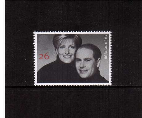 view larger image for SG 2096 (1999) - 26p  Royal Wedding - Edward and Sophie