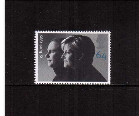 view larger image for SG 2097 (1999) - 64p Royal Wedding - Edward and Sophie 
