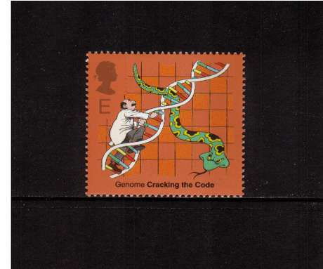 view larger image for SG 2345 (2003) - 'E'  - Discovery of DNA - DNA Snakes & Ladders