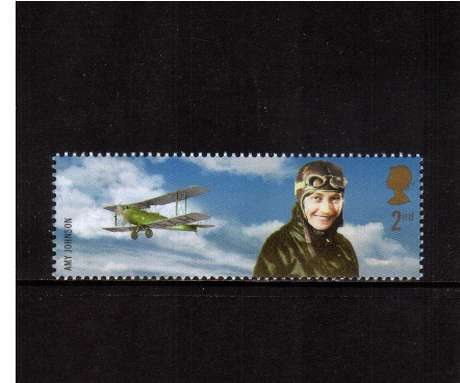 view larger image for SG 2360 (2003) - 2nd  - Extreme Endeavours - Amy Johnson & Plane 