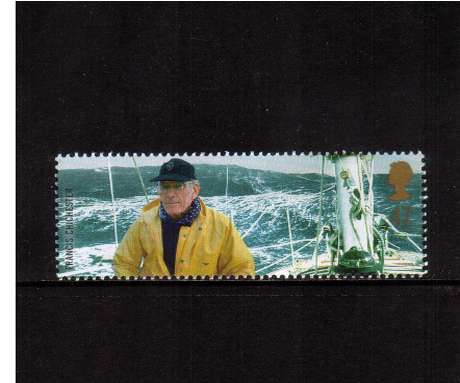 view larger image for SG 2364 (2003) - 47p  - Extreme Endeavours - Sir Francis Chichester & Yacht