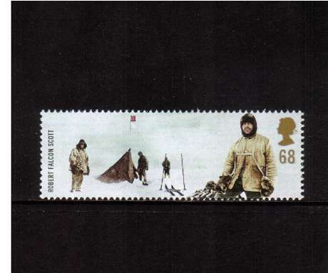view larger image for SG 2365 (2003) - 68p  - Extreme Endeavours - Robert Falcon Scott & Antarctic