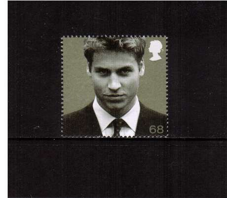 view larger image for SG 2384 (2003) - 68p  - 21st Birthday of Prince William