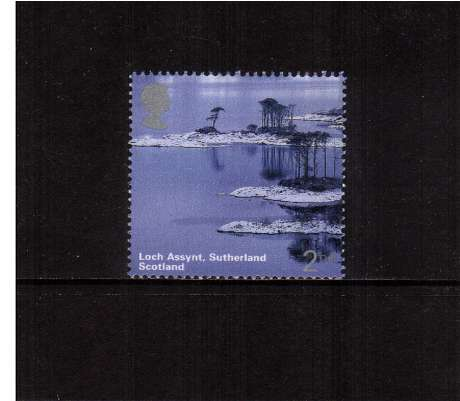 view larger image for SG 2385 (2003) - 2nd  - A British Journey - Scotland - Loch Assynt