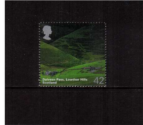 view larger image for SG 2388 (2003) - 42p  - A British Journey - Scotland - Lowther Hills