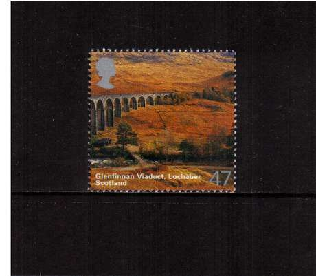 view larger image for SG 2389 (2003) - 47p  - A British Journey - Scotland - Glenfinnan Viaduct