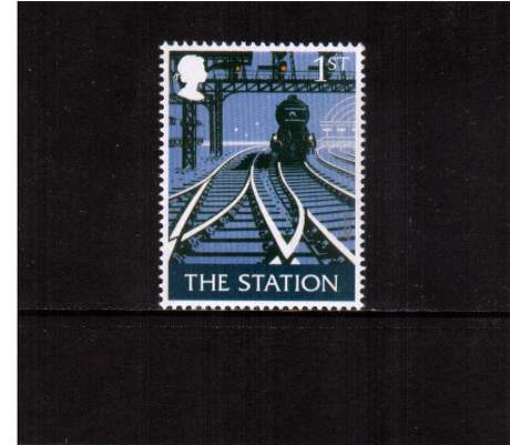 view larger image for SG 2392 (2003) - 1st  - EUROPA - British Pub Signs - 'The Station'