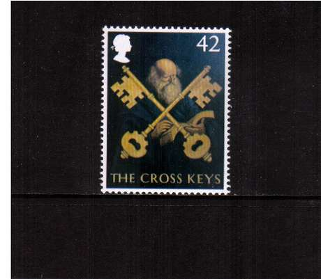 view larger image for SG 2394 (2003) - 42p  - EUROPA - British Pub Signs - 'The Cross Keys'