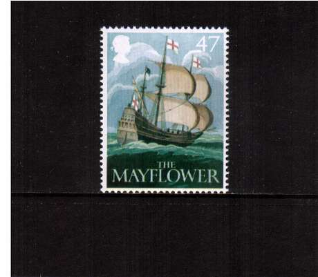 view larger image for SG 2395 (2003) - 47p  - EUROPA - British Pub Signs - 'The Mayflower'