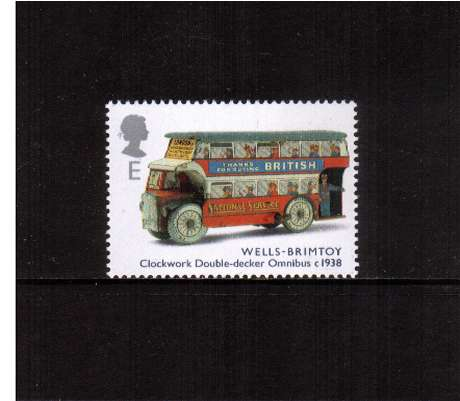 view larger image for SG 2398 (2003) - 'E'  - Classic Transport Toys - Double-Decker Omnibus