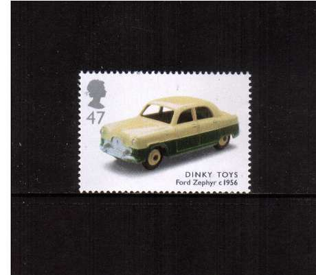 view larger image for SG 2400 (2003) - 47p  - Classic Transport Toys - Dinky Toys, Ford Zephyr Car 