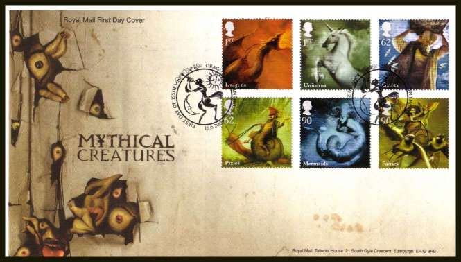 view larger back view image for Mythical Creatures 