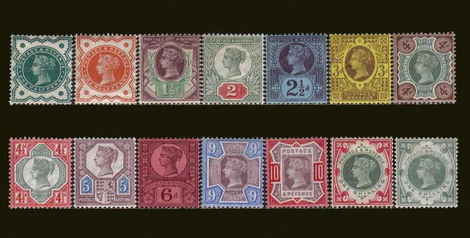 view larger image for SG 197-214 (1887) - Queen Victoria<br/>
