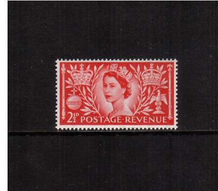 view larger image for SG 532 (1953) - 2�d Coronation<br/>