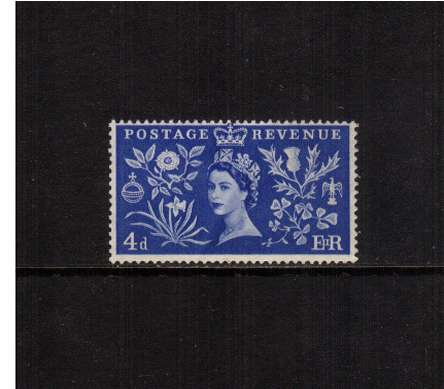 view larger image for SG 533 (1953) - 4d Coronation<br/>