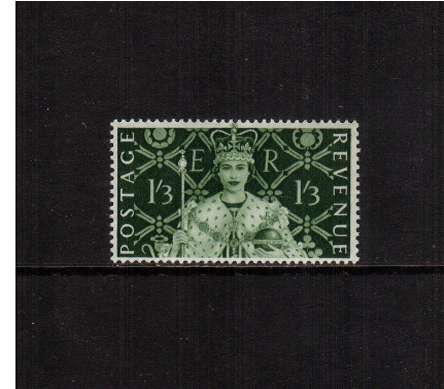 view larger image for SG 534 (1953) - 1/3d Coronation<br/>