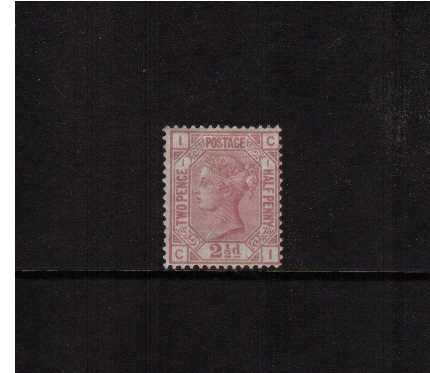 view larger image for SG 139 (1875) - 2�d Rosy Mauve - Watermark Small Anchor - on White Paper from Plate 1 lettered 'C-I'. A fine mounted mint stamp with original gum, reasonable centering, good colour and perforations. SG Cat �525
