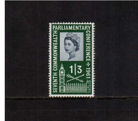 view larger image for SG 630 (1961) - 1/3d  Parliamentary Conference <br/>