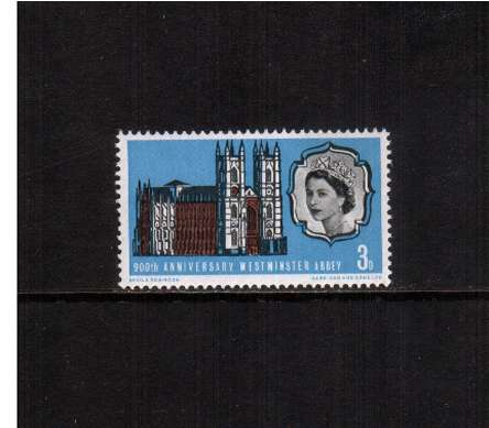 view larger image for SG 687 (1966) - 3d Westminster Abbey